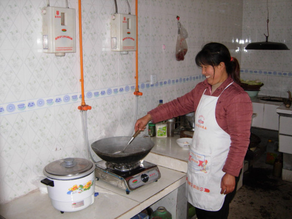 Biogas Clean Cooking Stove Smiling